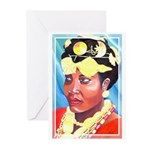Cote d'Ivorie Paintings Greeting Cards (Pk of 10)
