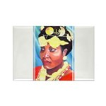 Cote d'Ivorie Paintings Rectangle Magnet (10 pack)