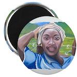 Cote d'Ivorie Paintings Magnet