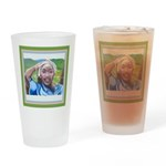 Cote d'Ivorie Paintings Drinking Glass