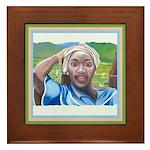 Cote d'Ivorie Paintings Framed Tile