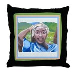Cote d'Ivorie Paintings Throw Pillow