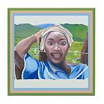 Cote d'Ivorie Paintings Tile Coaster