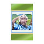 Cote d'Ivorie Paintings Sticker (Rectangle 10 pk)