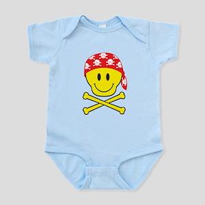 Smiley Skull Infant Bodysuit