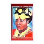 Cote d'Ivorie Paintings Sticker (Rectangle)
