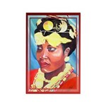 Cote d'Ivorie Paintings Rectangle Magnet