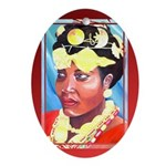 Cote d'Ivorie Paintings Ornament (Oval)