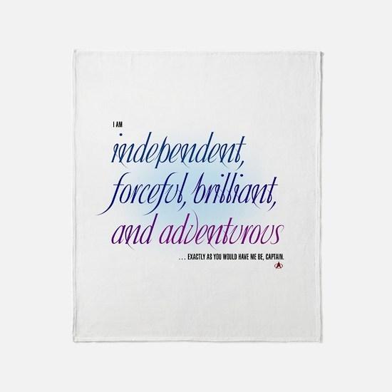 Independent... Throw Blanket