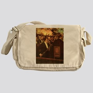Orchestra of Opera by Degas Messenger Bag
