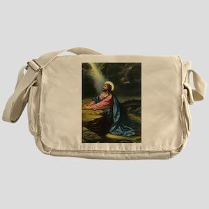 Vintage Jesus Christ Messenger Bag