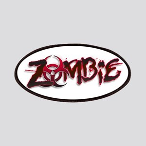 Zombie Biohazard Halloween Patches