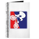 Red White and Blue BMX Bike Rider Journal