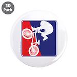 Red White and Blue BMX Bike Rider 3.5