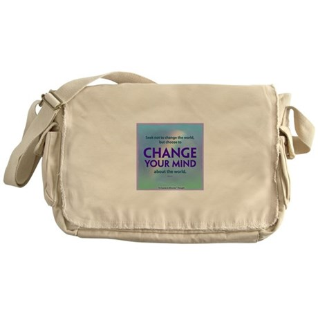 Change Your Mind Tote Bags Messenger Bag