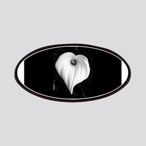 Black and White Calla Lily Patches