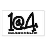 1@4 Sticker (Rectangle)