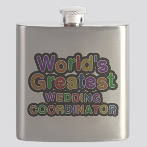 Worlds Greatest WEDDING COORDINATOR Flask