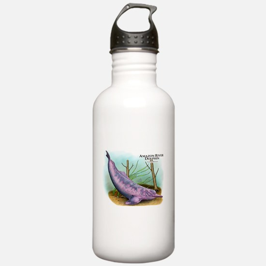 Amazon River Dolphin Water Bottle