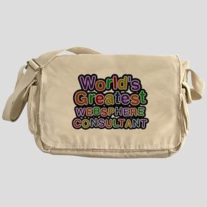 Worlds Greatest WEBSPHERE CONSULTANT Messenger Bag