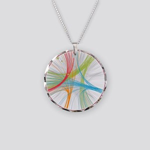 Human Genome Necklace Circle Charm