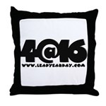 4@16 Throw Pillow