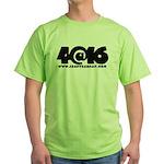 4@16 Green T-Shirt