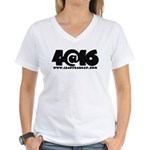4@16 Women's V-Neck T-Shirt