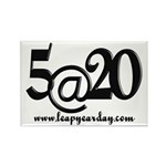 5@20 Rectangle Magnet (100 pack)
