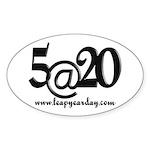 5@20 Sticker (Oval 10 pk)
