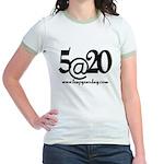 5@20 Jr. Ringer T-Shirt