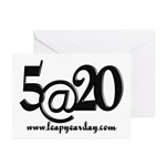 5@20 Greeting Cards (Pk of 20)