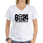 6@24 Women's V-Neck T-Shirt