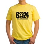 6@24 Yellow T-Shirt