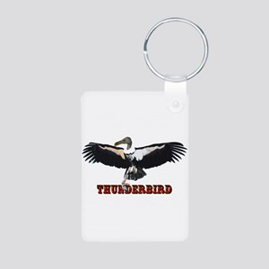 Thunderbird Aluminum Photo Keychain