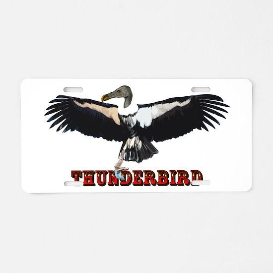 Thunderbird Aluminum License Plate