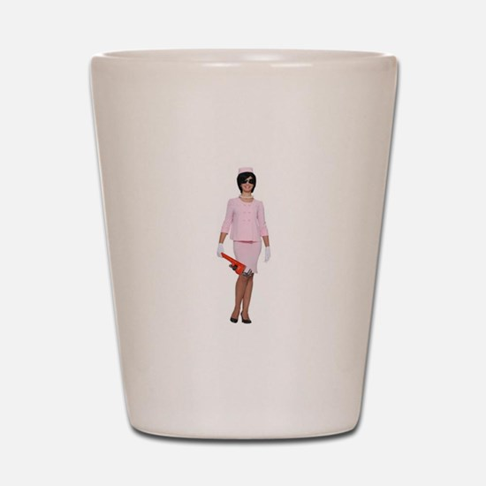Cute Jackie o Shot Glass