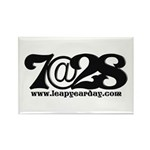 7@28 Rectangle Magnet (100 pack)