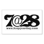 7@28 Sticker (Rectangle 10 pk)