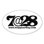 7@28 Sticker (Oval 50 pk)