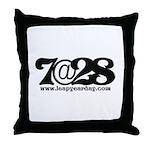 7@28 Throw Pillow