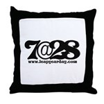 7@28 Throw Pillow