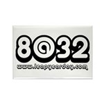 8@32 Rectangle Magnet (10 pack)