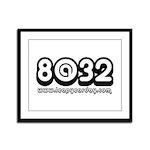 8@32 Framed Panel Print