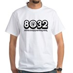 8@32 White T-Shirt