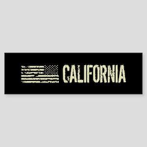 Black Flag: California Sticker (Bumper)