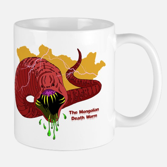 Mongolian Death Worm Mug