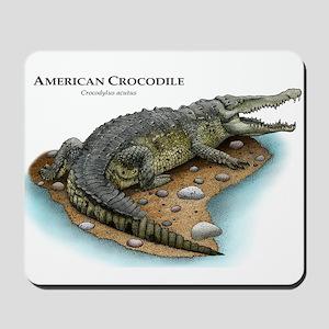 American Crocodile Mousepad