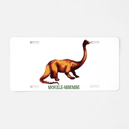 Mokele-mbembe Aluminum License Plate