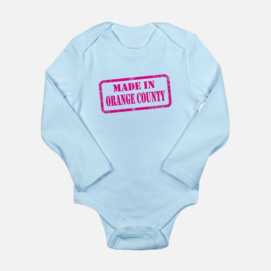 MADE IN PALM SPRINGS Long Sleeve Infant Bodysuit